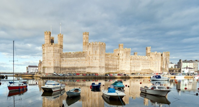 Caernarfon Castle. Image: Giborn_134, Flickr