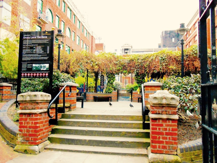 Drury Lane Gardens. Image: arielsgrandlondonadventure