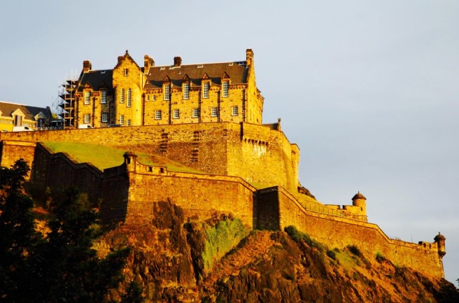 Edinburgh Castle.