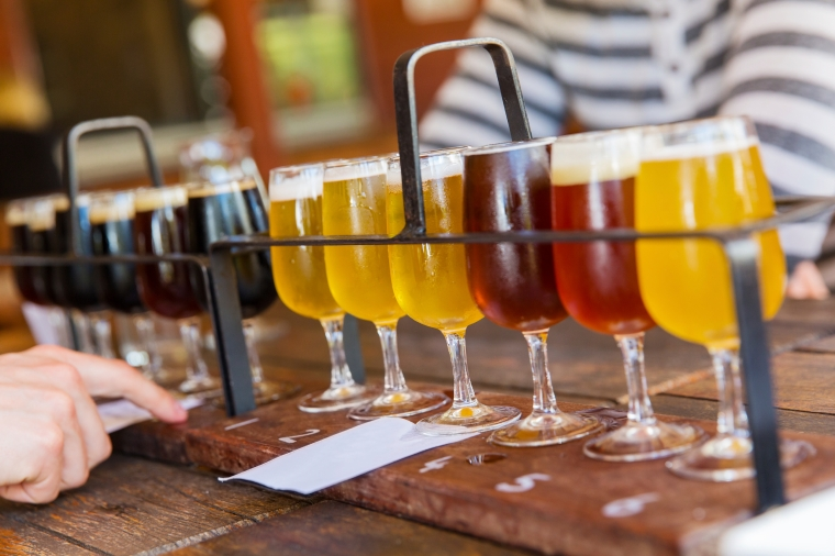 Bottoms up! Treat Dad to some craft beer this Father's day.
