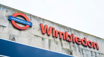 Up to 16 direct trains per hour run between London Waterloo and Wimbledon