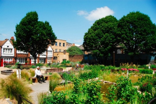 Red Cross Garden. Image: Timeout