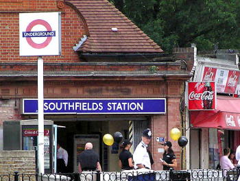 Southfields Station (District Line) is the closest tube station to the Wimbledon tennis championships. Image: Mooretrveltips.com