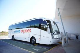 National Express coaches also serve Glastonbury Festival