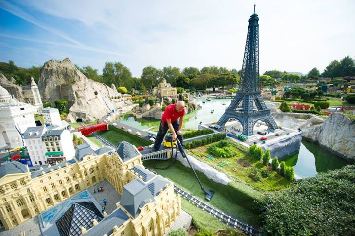 Paris. Part of Legoland Windsor's Miniland.