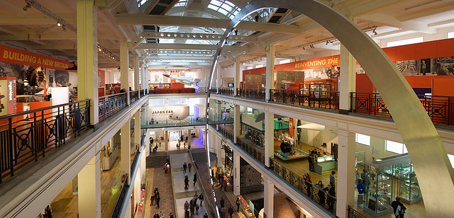 The Energy Gallery at the Science Museum, London. Image: Ewen Roberts, Flickr.