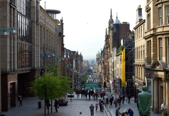 Buchanan Street Glasgow, Image: Nulkr.dave, Flickr
