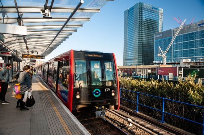 The Docklands light railway provides the easiest service to London City Airport