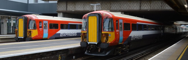 Gatwick Express trains operate between London Victoria station and Gatwick Airport every 15 minutes