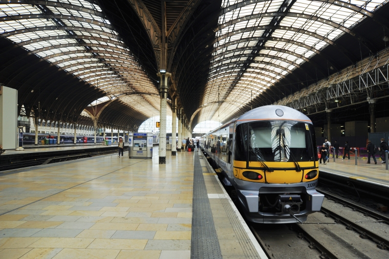 Heathrow Express trains depart London Paddington every 15 minutes