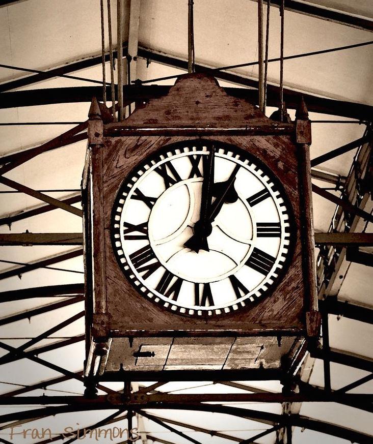 Pietermaritzburg station clock .Image: Fran Simmons