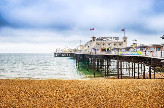Brighton pier from Brighton BEach