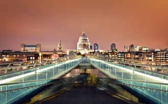 St Pauls Cathedral and Central London