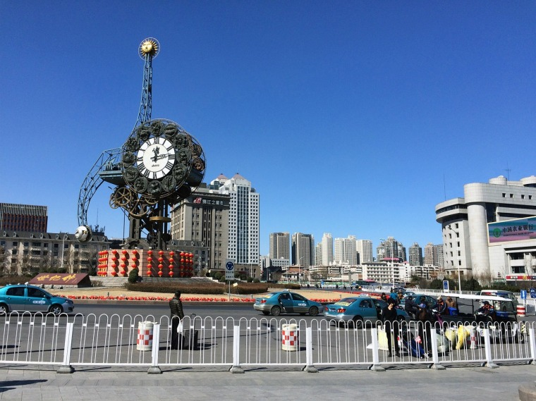 Tianjin Clock, China.