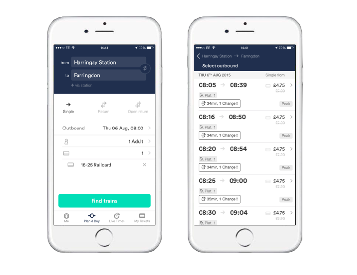 use the trainline app to beat the strike